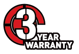 Never Summer 3 Year Warranty