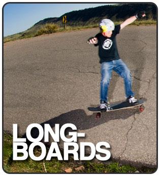 Never Summer Longboards