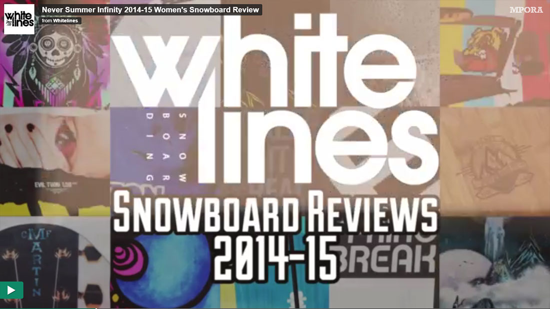 Whitelines review the 14/15 Infinity