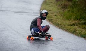 Dale British Downhill Skateboarding League