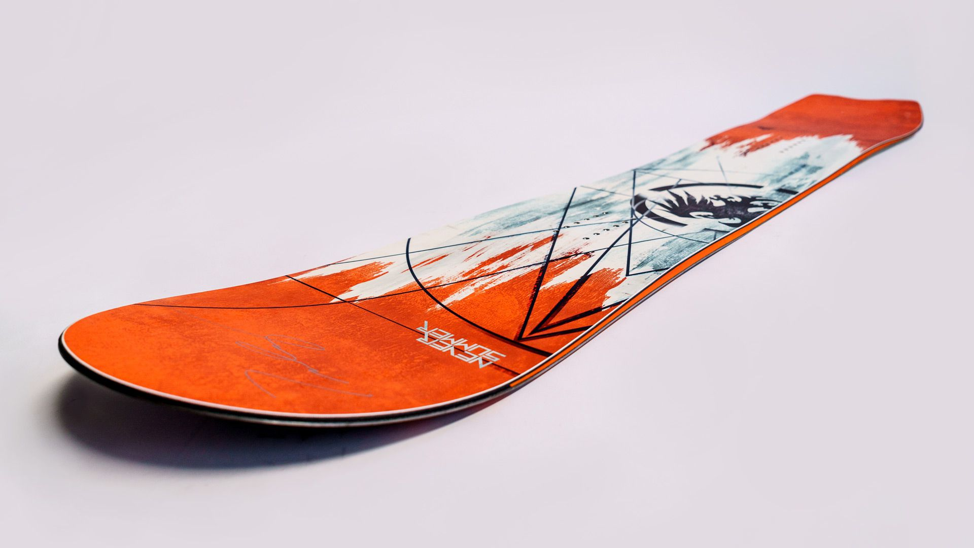 Win a Rare Never Summer Snowboard