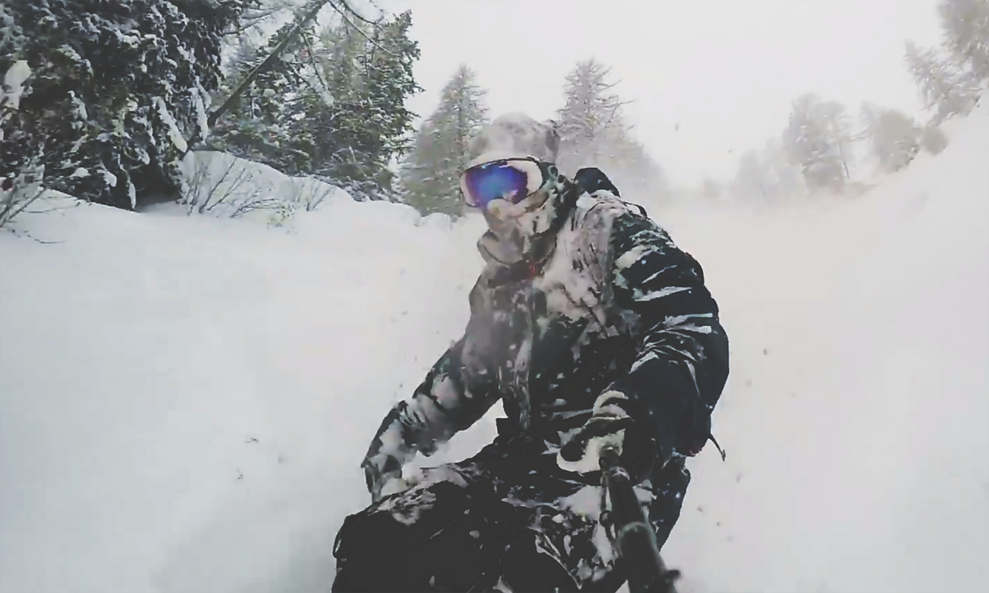 André Saudan Chamonix GoPro Freeride Edit