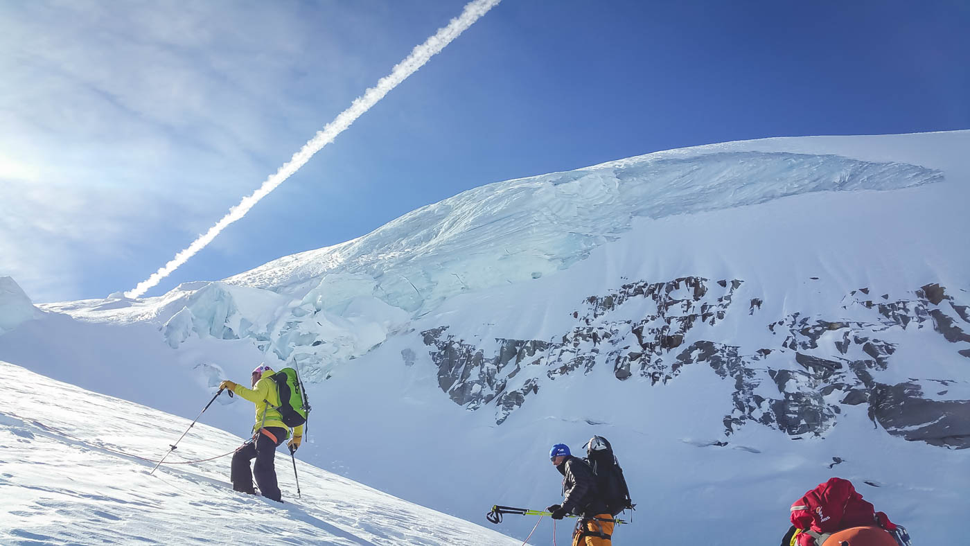 Backcountry adventure in Gran Paradiso