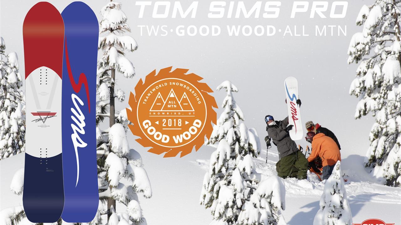 Tom SIMS Pro – Good Wood Winner