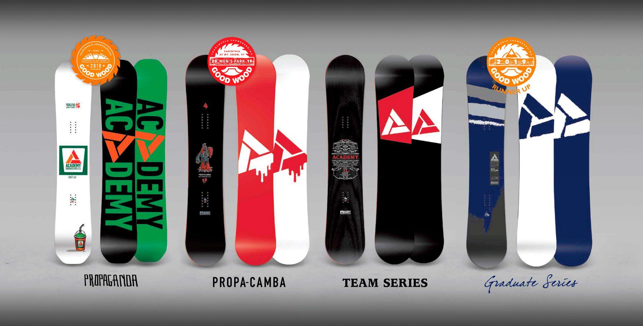 Academy Snowboards 18/19